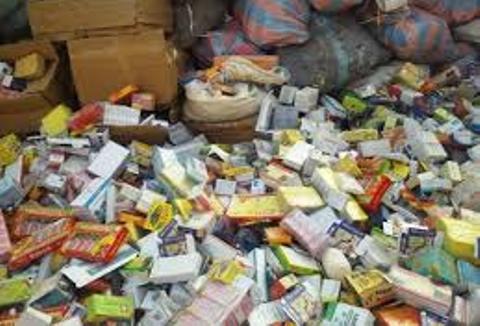 Kaffrine : Plus d'une tonne de faux médicaments saisie