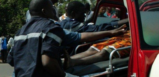 Kaolack : Un accident fait 1 mort et plusieurs blessés graves.