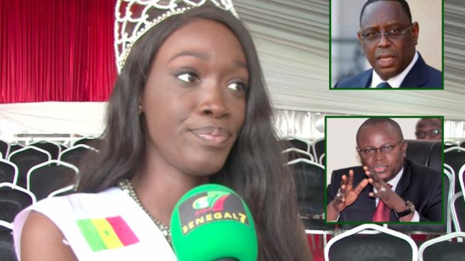Vidéo – Fatima DIONE, Miss Sénégal 2020 « Je ne suis pas de l'Apr, mais… »
