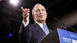 Primaires démocrates : le milliardaire Michael Bloomberg entre dans l'arène