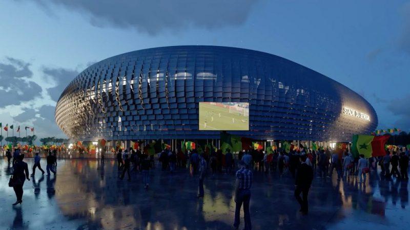 (03 Photos) Voilà à quoi va ressembler le futur stade du Sénégal de 50.000 places, qui pourrait accueillir une CAN dans 4 ans