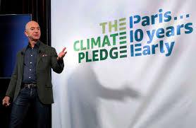 Jeff Bezos veut consacrer 10 milliards de dollars à la lutte contre le réchauffement climatique