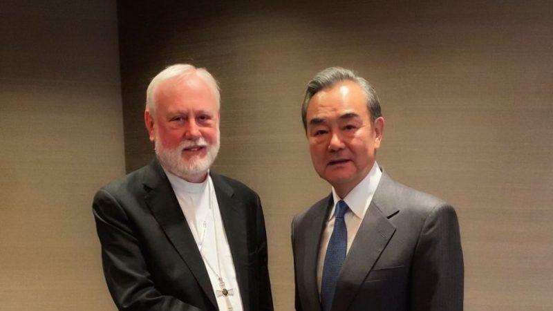 Rencontre historique entre les ministres des Affaires étrangères de Chine et du Vatican