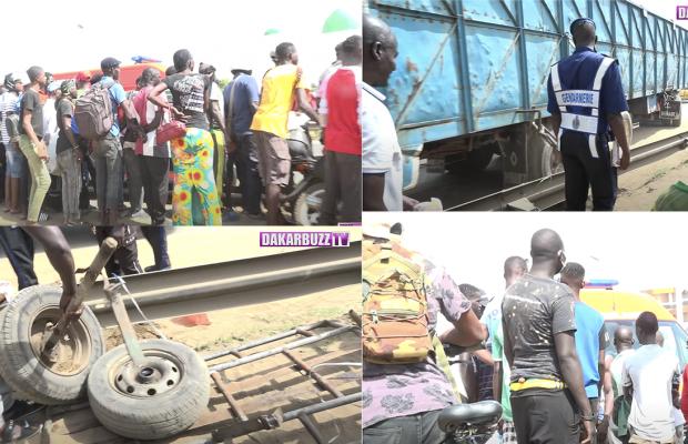 Patte d'Oie: un camion fou tue Mouhamed Diop