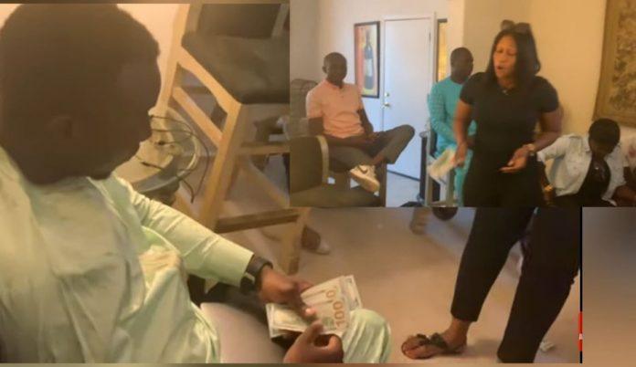 (Vidéo)Mo Gates chasse Viviane de Las Vegas et offre 6 millions en direct à Aida Samb