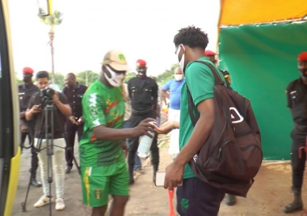 Covid-19 : Le protocole sanitaire très respecté par la Mauritanie avant d'affronter le Sénégal