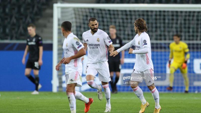 LDC : le Real Madrid arrache un nul miraculeux à Gladbach, Liverpool assure…