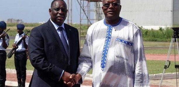 Le Président Roch Kaboré en visite privée à Dakar