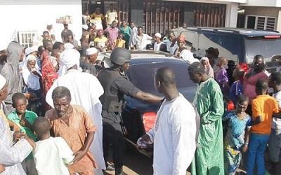 Diourbel : un gendarme blessé lors des affrontements au marché Ndindi
