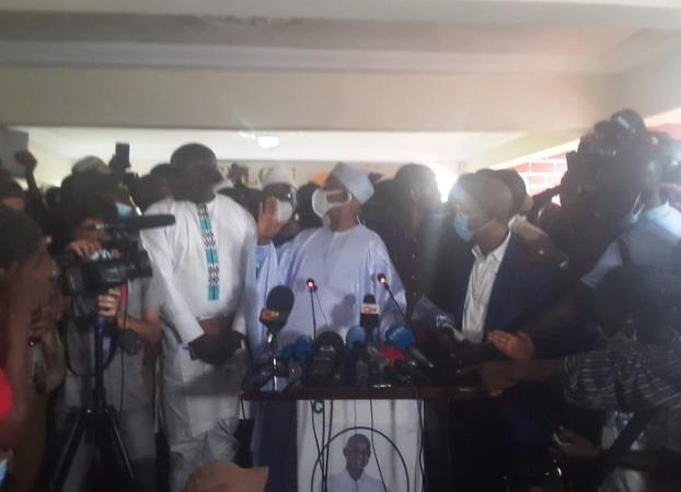 Conférence de presse du PRESIDENT de l'UFDG Cellou Dalein Diallo