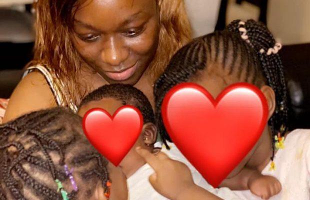 (05 PHOTOS) Khady Ndiaye Bijou de la TFM dévoile sa petite famille