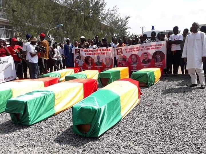 Le FNDC publie une liste de 92 victimes des manifestations anti-Condé