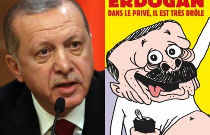 Erdogan caricaturé par « Charlie Hebdo » : Ankara annonce une réponse diplomatique