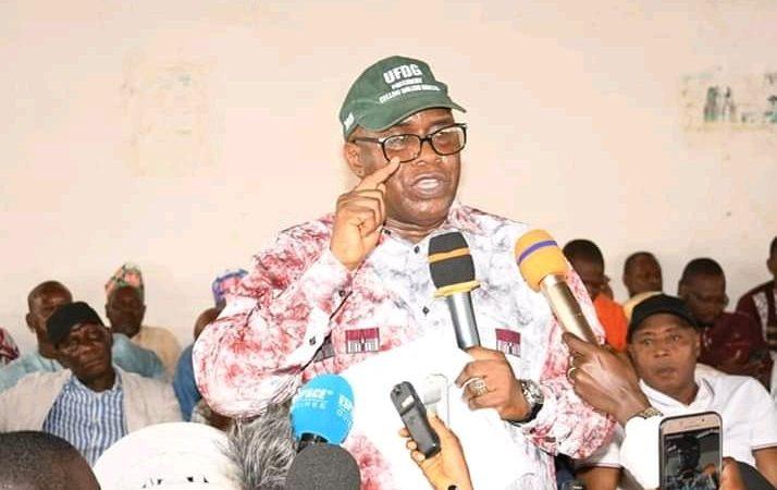 """Guinée : Fodé Oussou Fofana (UFDG) catégorique : """"on'a gagné et nous avons les preuves…"""""""