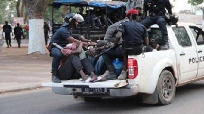 Manifestation devant l'ambassade de la Guinée au Sénégal : La menace du Préfet de Dakar aux étrangers (DOCUMENT)
