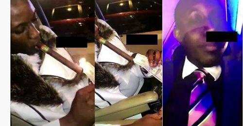 (Vidéo) Las Vegas: Mo Gates allume son cigare avec des billets de dollars et clashe les Imams