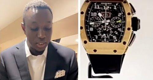(Vidéo) Mo Gates achète une montre à 113 Millions
