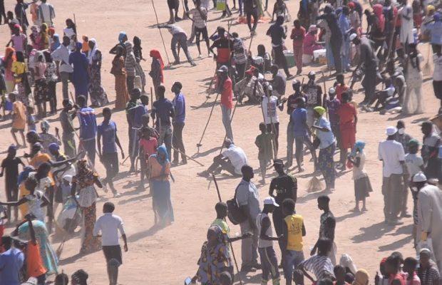 Vidéo- Gamou 2020: Les Moustarchidines nettoient le champs des courses
