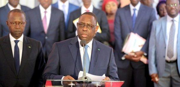 Remaniement ministériel : Macky s'explique devant les ministres écartés