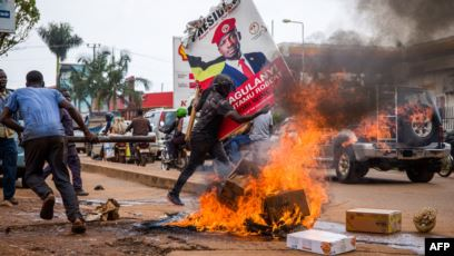 Présidentielle/Ouganda : 37 morts depuis l'arrestation du candidat Bobi Wine