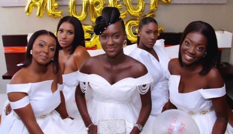 Karma : Admirez Le sagnsé des filles lors du mariage de Virginie (Photos)
