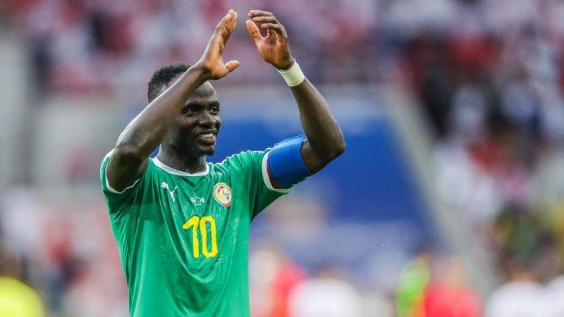 Sadio Mané égale le record d'El Hadji Diouf