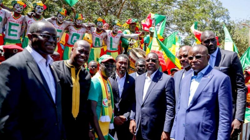 CAN 2022 : Macky Sall félicite les Lions