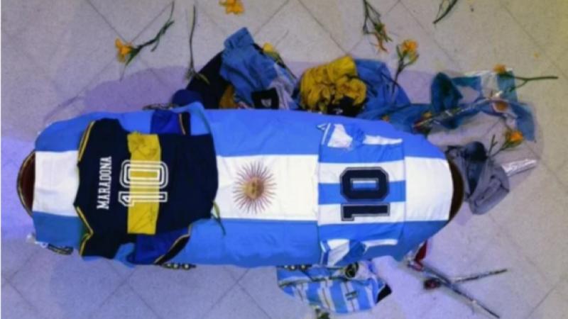L'incroyable dernier hommage du peuple argentin à Diego Maradona (Images)