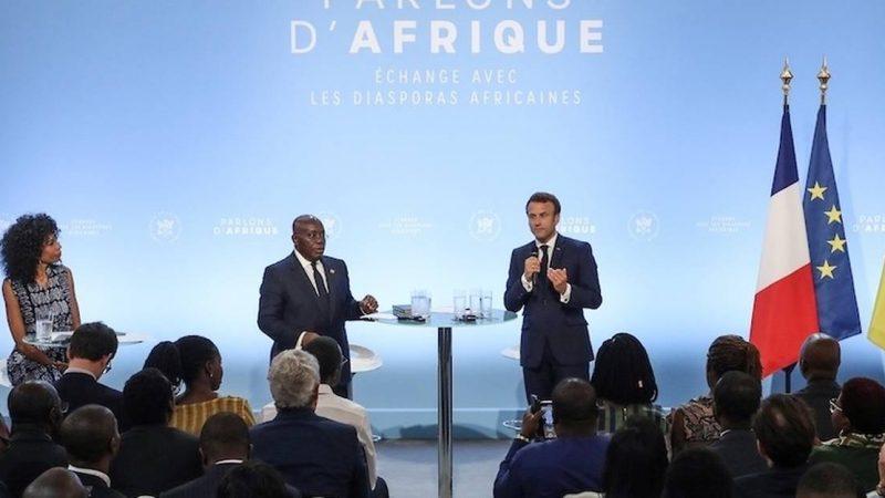 """Emmanuel Macron: """"Nous avons une relation particulière avec l'Afrique francophone"""""""