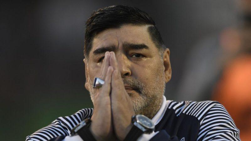 Diego Maradona annoncé mort par plusieurs médias argentins