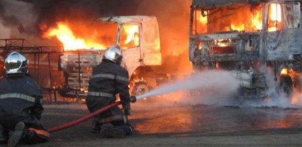 Kaolack : Trois morts et des blessés graves suite l'explosion deux camions citernes à Kahone