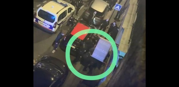 Producteur passé à tabac par des policiers : des images révèlent les coups portés à la victime dans la rue