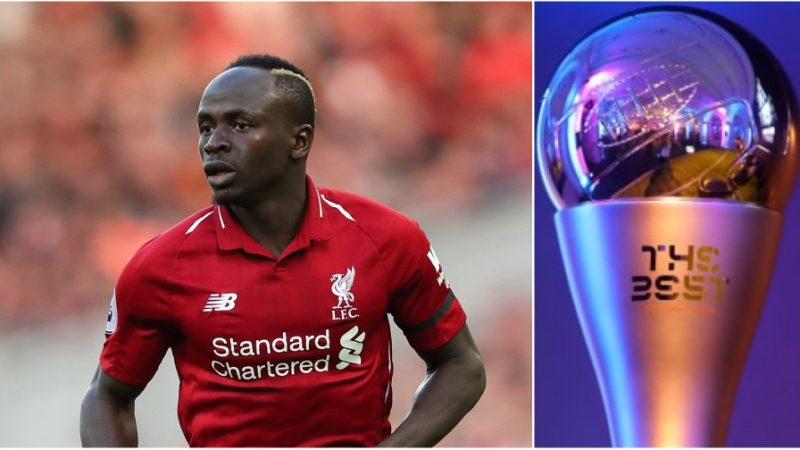 Trophée the Best: Sadio Mané nominé par la FIFA
