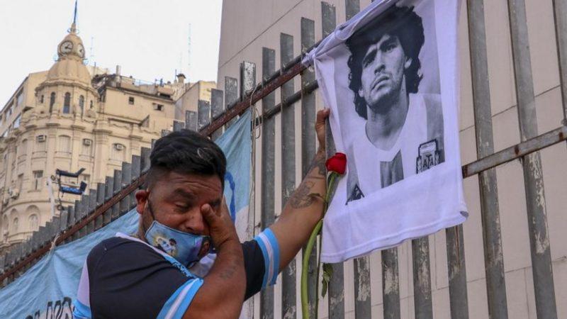 Maradona : Les hommages auront lieu au palais