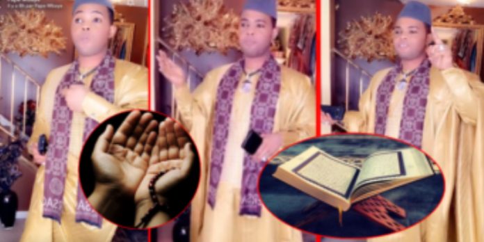 """Kawtef-Vidéo: Pape Mbaye débarque avec des """" Sourate et Duas du Coran """" après son supposé décès"""