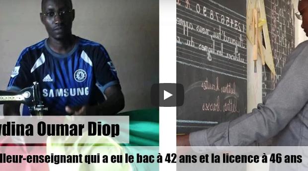 Seydina Oumar Diop : Cursus inédit d'un tailleur-enseignant qui a eu le bac à 42 ans
