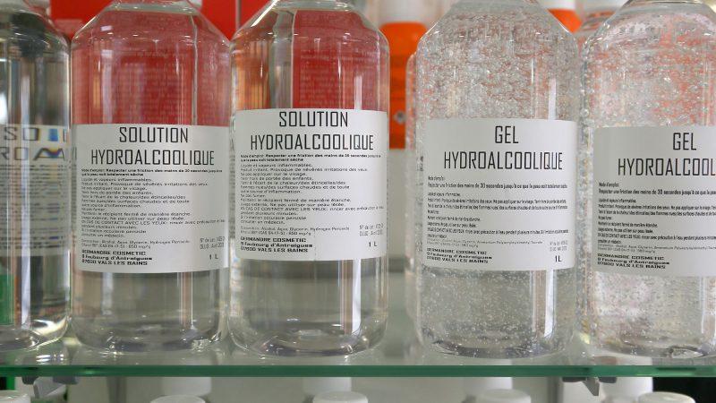 Faute d'alcool, sept Russes boivent du gel hydroalcoolique et meurent
