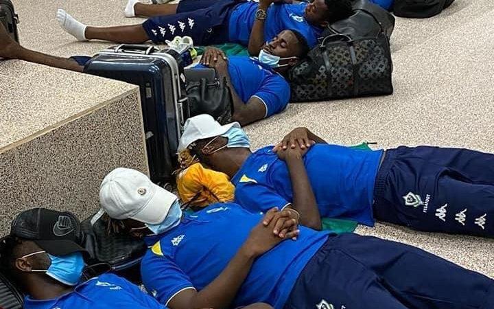 Can 2022 : Les joueurs gabonais bloqués à l'aéroport de Banjul
