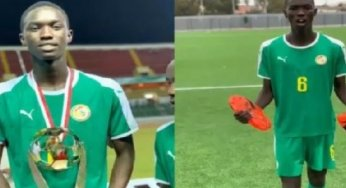 Tournoi U20 Ufoa A : Mamadou Lamine Camara meilleur joueur, Boubacar Fall numéro 1 des gardiens…