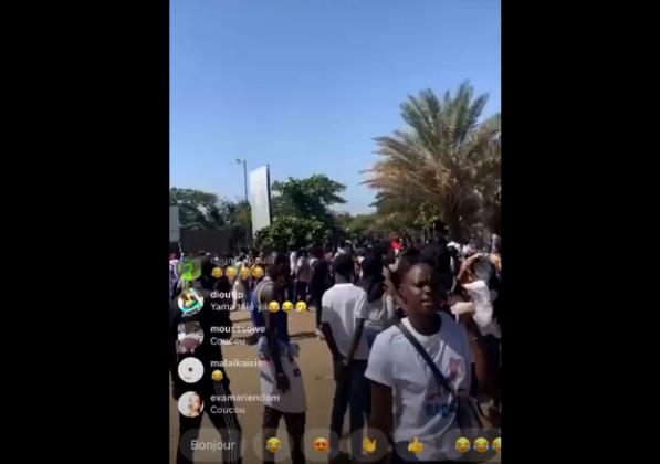 Vidéo – INCR0YABLE : Le casting de Marodi à Dakar attire une marée humaine