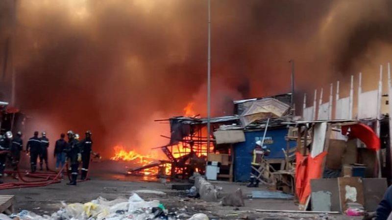 Marchés sénégalais : 70 incendies enregistrés en 05 ans