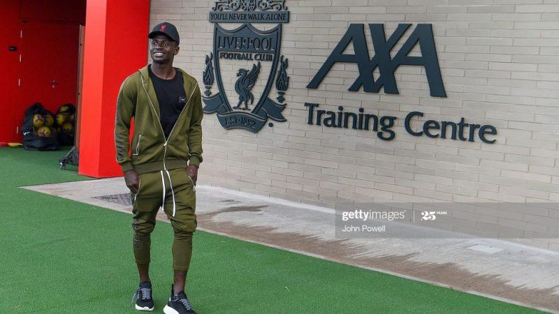 (05 Photos)  De retour à Liverpool Sadio Mané découvre le nouveau centre d'entrainement