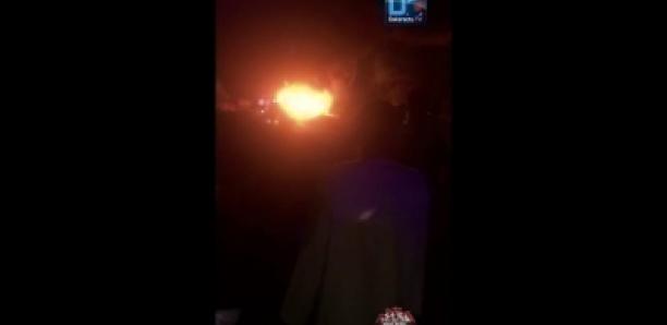 Deux camions citernes prennent feu à Kahone (Kaolack)