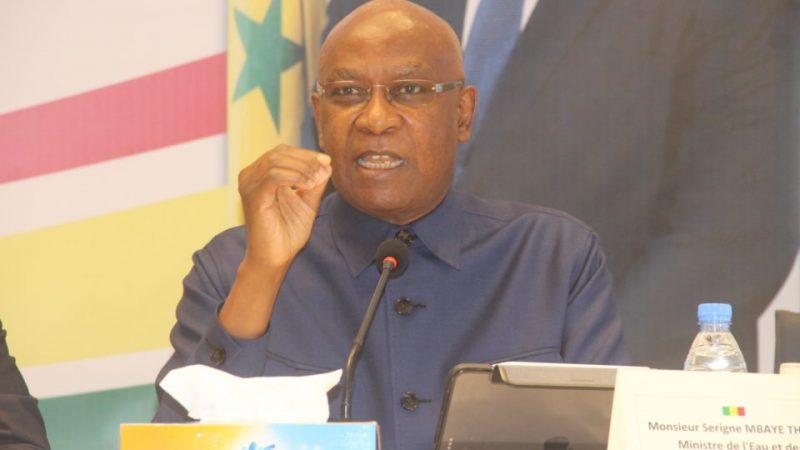 Eau et assainissement : Le budget de Serigne Mbaye Thiam est arrêté à plus de 124 milliards de F CFA