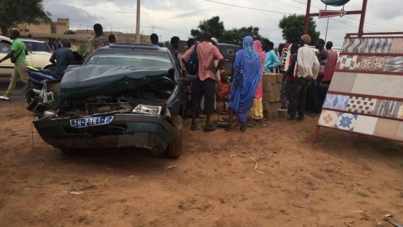 Terrible accident à Thiadiaye : 4 enfants d'une même famille morts sur le coup