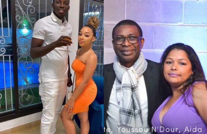 Line Sow, la fille de Aida Coulibaly et de Youssou Ndour en couple avec le fils d'Aly Ngouille Ndiaye