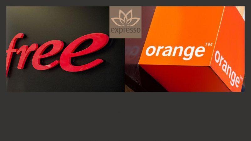 Orange laisse quelques plumes, Free monte, Expresso galère !