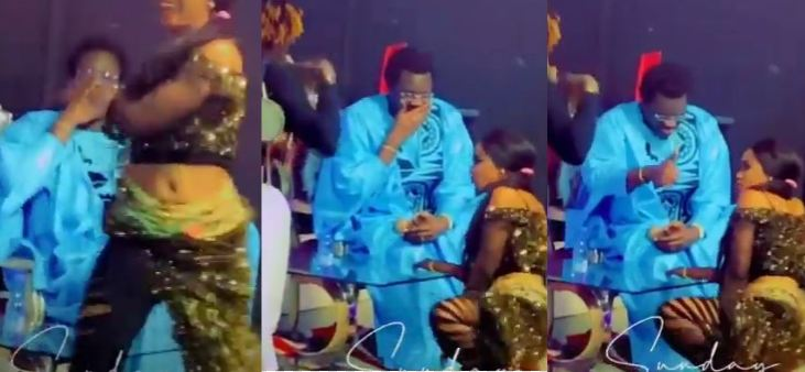Omaro choqué par le leumbeul très osé de la danseuse de Sidy Diop Ndeye Ndiaye Banaya(Vidéo)
