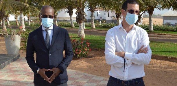 Génération Foot : Visite du représentant de l'AFD à Dakar