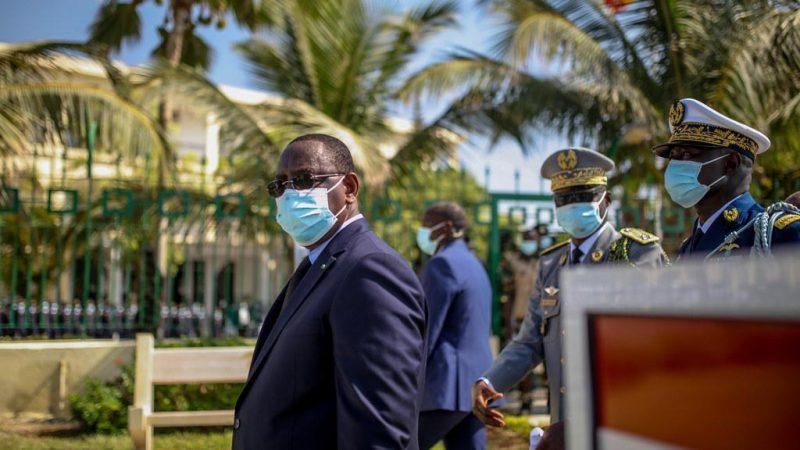 Manifestations: la réunion de Macky avec les hauts gradés